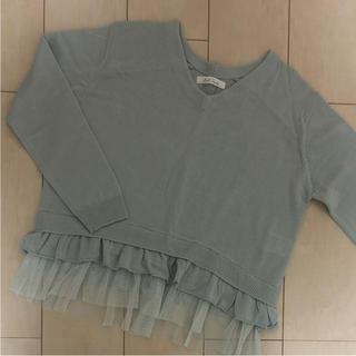 グリーンパークス(green parks)の裾フリルニット♡(ニット/セーター)