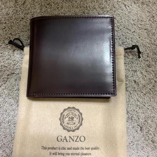 ガンゾ(GANZO)のGANZO シェルコードバン 二つ折り財布(折り財布)
