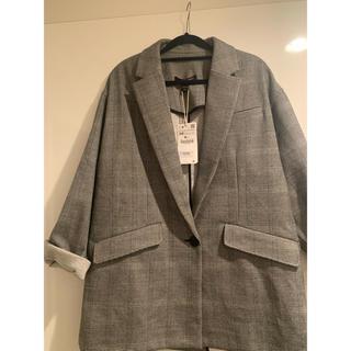 ZARA - 新品 ビッグシルエットジャケット