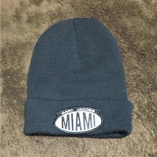 マークジェイコブス(MARC JACOBS)のマークジェイコブス ニット帽 キャップ ビーニー(ニット帽/ビーニー)