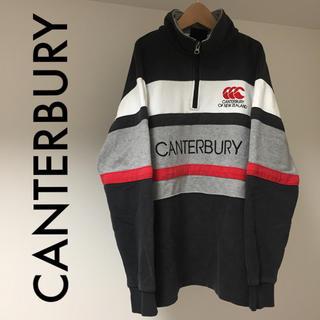 カンタベリー(CANTERBURY)のCANTERBURY ハーフジップ スウェット 送料込み(スウェット)