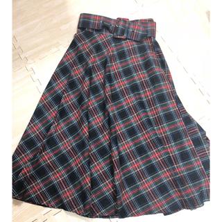 ZARA - ZARA風 チェック スカート 新品