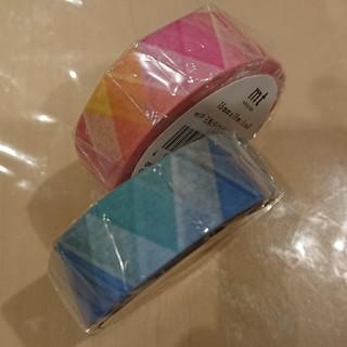エムティー(mt)のmt・さんかくとダイヤマスキングテープ!ピンク&ブルー(テープ/マスキングテープ)