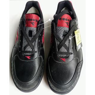 ディアドラ(DIADORA)のディアドラ 安全作業靴 オーストリッチ 黒/赤 26.0cm(スニーカー)