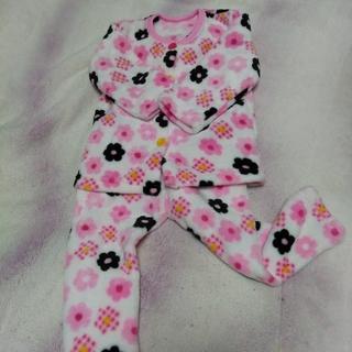 シマムラ(しまむら)の中古美品 キッズ女の子パジャマ 100cm(パジャマ)