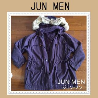 ジュンメン(JUNMEN)のJUN MEN ジュンメン♡フード ファー コート ブルゾン♡フリーサイズ(ブルゾン)