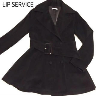 リップサービス(LIP SERVICE)のLIP SERVICE リップサービス ベルト付きトレンチ型冬コート(その他)