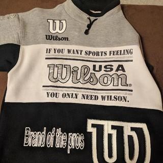 ウィルソン(wilson)のwilson ウィルソン トップス スウェット パーカー(スウェット)
