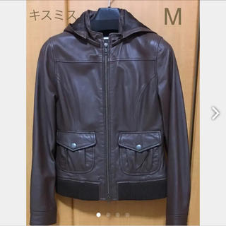 キスミス(Xmiss)のキスミス☆レザージャケットライダースジャケット サイズ37FREE(ライダースジャケット)