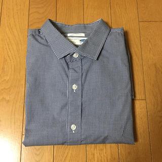 オールドネイビー(Old Navy)のシャツ 青 ブルー ワイシャツ チェック(シャツ)