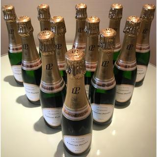 ローラン・ペリエ ラ・キュベ 375mlハーフ12本セット!送料無料!(シャンパン/スパークリングワイン)