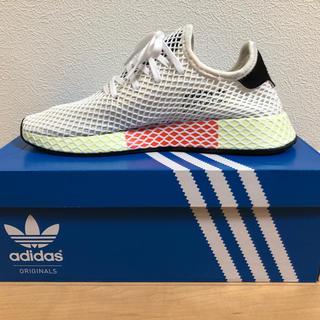 adidas - 半額以下! アディダス オリジナルス ディーラプト ランナー 白/黄緑 27.0