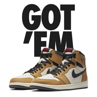 NIKE - NIKE AIR JORDAN 1 ROOKIE OF THE YEAR