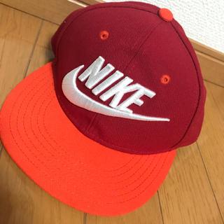 ナイキ(NIKE)のナイキ 赤×オレンジ キャップ 最終価格(キャップ)