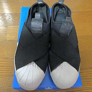 アディダス(adidas)のカッピー様 アディダス adidas スリッポン 23.5(スリッポン/モカシン)