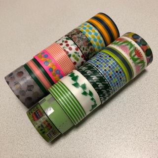 エムティー(mt)の新品★mt 緑系マスキングテープ 17個(テープ/マスキングテープ)