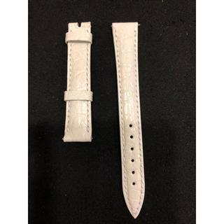 フランクミュラー(FRANCK MULLER)のフランクミュラー レディース 純正ベルト クロコダイル 白エナメル(腕時計)