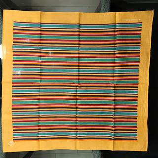 イルビゾンテ(IL BISONTE)のイルビゾンテ IL BISONTE バンダナ ハンカチ スカーフ レインボー(バンダナ/スカーフ)