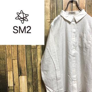 SM2 - 【レア】サマンサモスモスsm2♡コットン100%シャツ