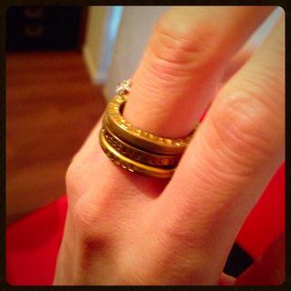 アッシュペーフランス(H.P.FRANCE)のSERGE THORAVAL指輪(リング(指輪))