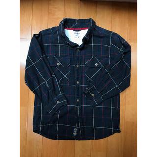 オシュコシュ(OshKosh)のチェックシャツ  boys  オシュコシュ USサイズ7 120-130(ブラウス)