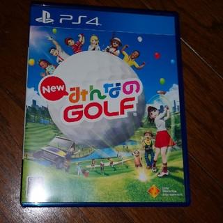 プレイステーション4(PlayStation4)のNEWみんなのGOLF(家庭用ゲームソフト)