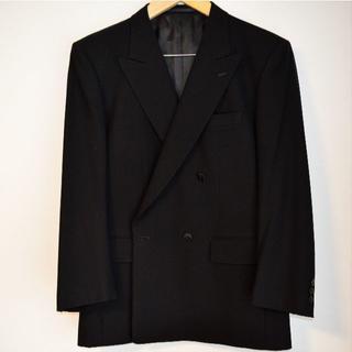 リアルブラック★フォーマル|ダブル礼服 AB5|真っ黒|激安 値引不可(その他)