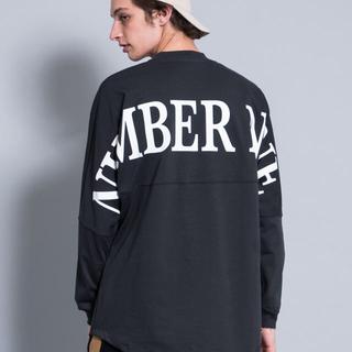 ナンバーナイン(NUMBER (N)INE)のナンバーナイン ロングカットソー 新品(Tシャツ/カットソー(七分/長袖))