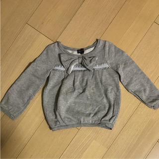 ジルスチュアートニューヨーク(JILLSTUART NEWYORK)のJILLSTUART リボン付きトレーナー(Tシャツ/カットソー)