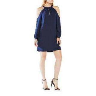 ビーシービージーマックスアズリア(BCBGMAXAZRIA)の【新品】BCBGMAXAZRIA ドレス ワンピース(ミディアムドレス)