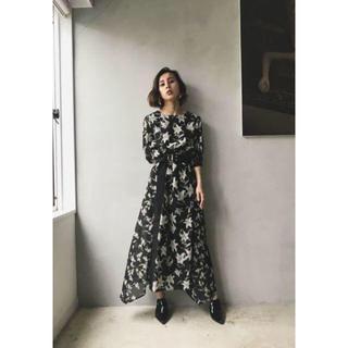 Ameri VINTAGE - 新品 アメリ 花柄ワンピース ロング ドレス