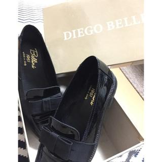 ディエゴベリーニ(DIEGO BELLINI)のDIEGO BELLINI☆彡.。リボン エナメル ローファー(ローファー/革靴)