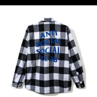アンチ(ANTI)のassc flannel shirts  S(シャツ)