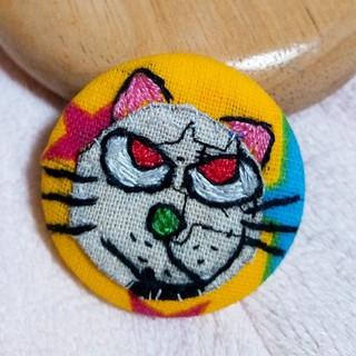 猫ちゃんのブローチ(1個)