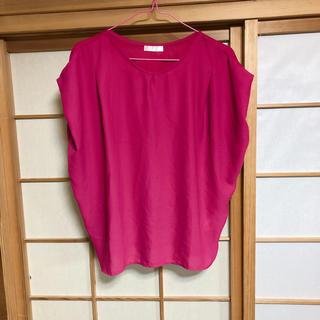 ドレスキップ(DRESKIP)のオルチャン ピンク トップス(カットソー(半袖/袖なし))
