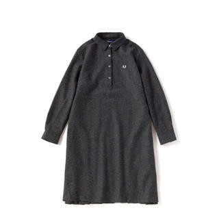 FRED PERRY - Fred Perry WOVEN SHIRT DRESS