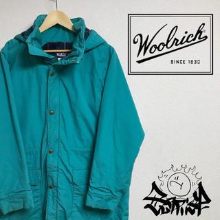 ウールリッチ(WOOLRICH)のwoolrich ウールリッチ ナイロン 中綿 ロング ジャケット コート(マウンテンパーカー)