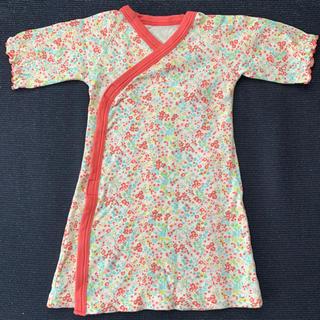 Combi mini - コンビミニ 小花柄 新生児用 ラップドレス