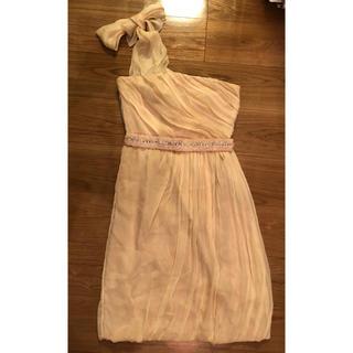 アルベルタフェレッティ(ALBERTA FERRETTI)のワンショルダー ドレス アルベルタ・フレッティ ピンク(その他ドレス)