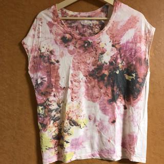 ニトカ(nitca)のアンビテックス ニトカ nitca 花柄 プリント 半袖 Tシャツ(Tシャツ(半袖/袖なし))