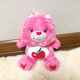 ケアベア(CareBears)のケアベアぬいぐるみ ピンク(ぬいぐるみ)