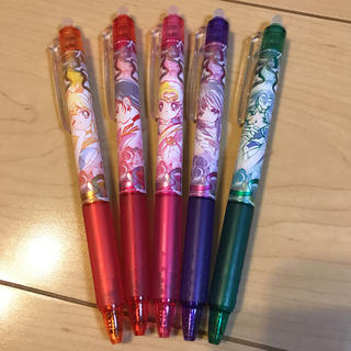 セーラームーン(セーラームーン)の希少 セーラームーン フリクションペン 5本セット(ペン/マーカー)