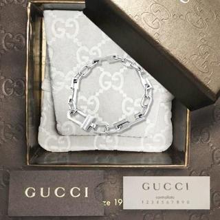 Gucci - 未使用 グッチ Gロゴチェーンブレスレット