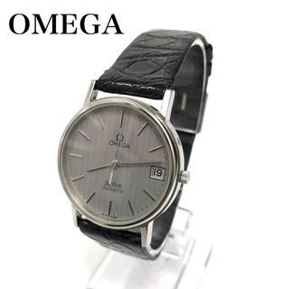 オメガ(OMEGA)の【腕時計】 OMEGA オメガ  デビル クォーツ メンズ クロコダイル(腕時計(アナログ))