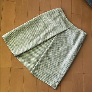 ジェイプレスレディス(J.PRESS LADIES)のウールスカート (ひざ丈スカート)
