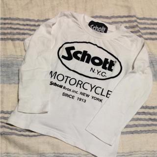 ショット(schott)のSchott ロングTシャツ 100(Tシャツ/カットソー)