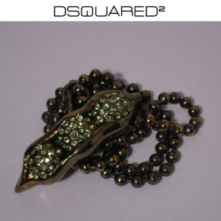 DSQUARED2 - Dsquared2 ディースクエアード 枝豆 ネックレス ペンダント