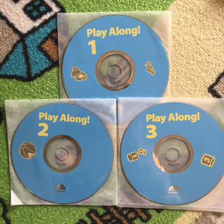 ディズニー(Disney)のプレイアロング CD 3枚セット(キッズ/ファミリー)