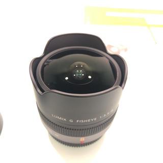 パナソニック(Panasonic)のPanasonic LUMIX G FISHEYE 8mm F3.5(レンズ(単焦点))