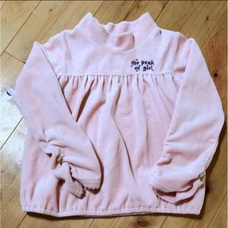 ウィルメリー(WILL MERY)のWILL MERY ベロアトップス 100cm(Tシャツ/カットソー)